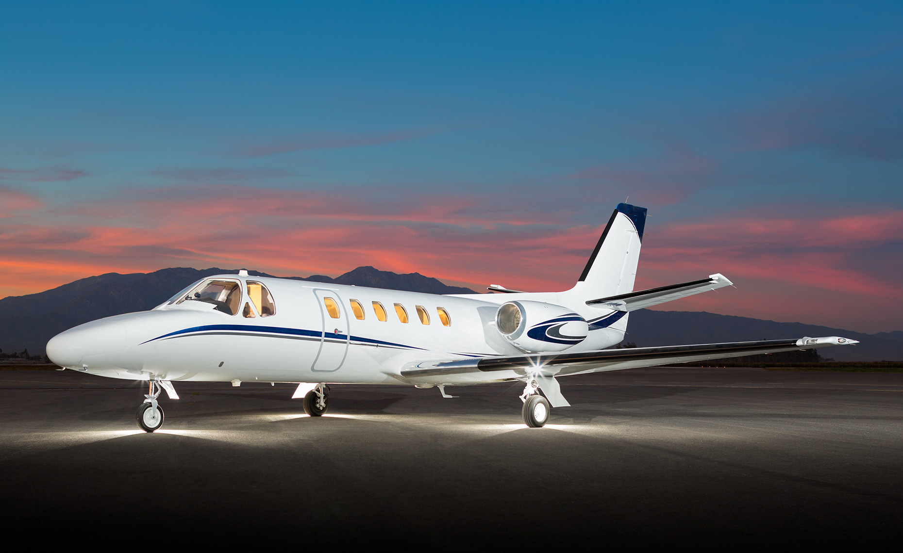 Cessna Citation 550 business jet