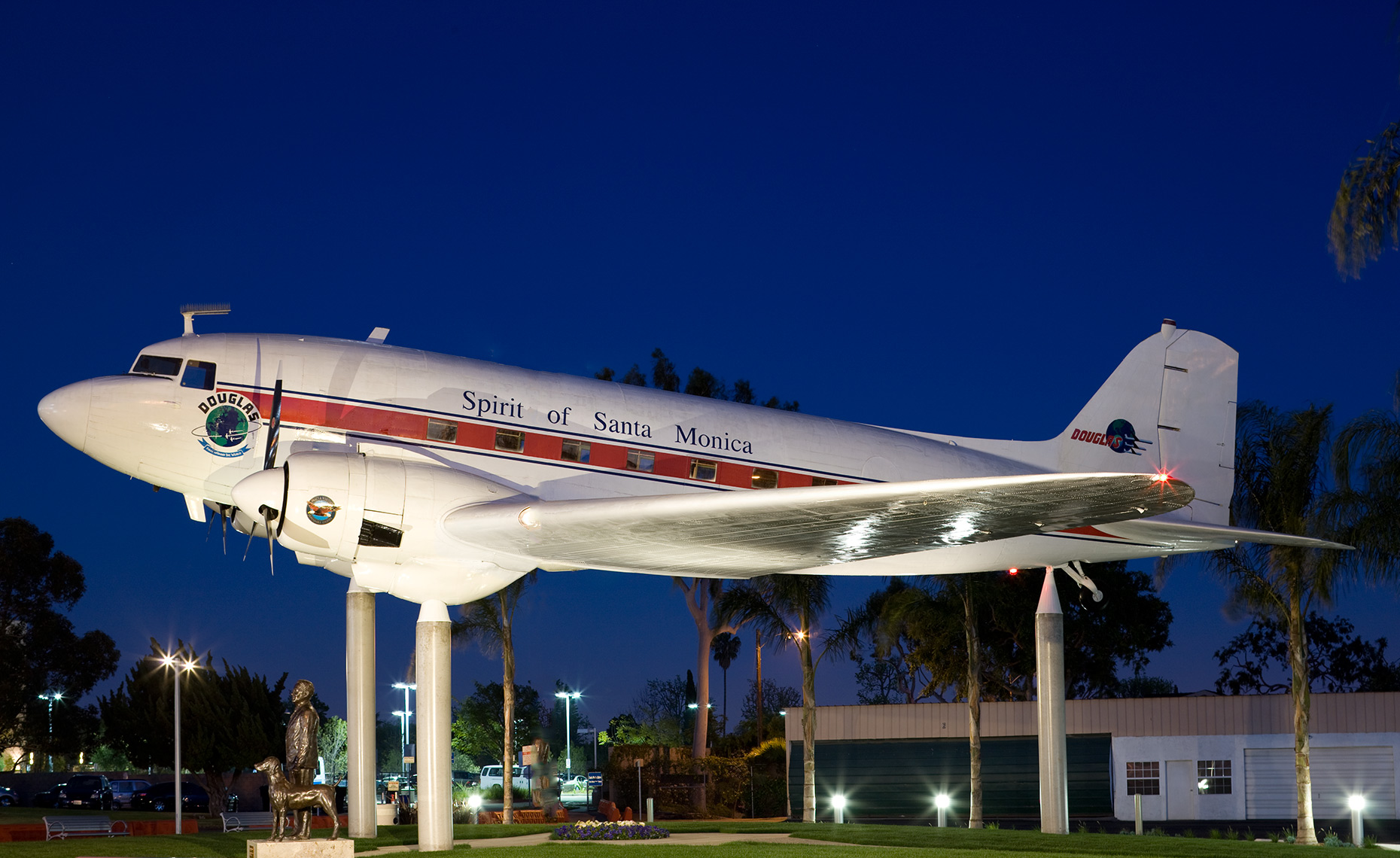 Douglas DC-3 at Santa Monica Museum of Flying