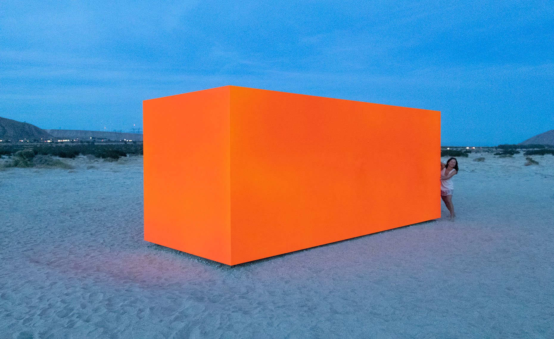 "Desert X 2019: ""Spector"" by Sterling Ruby, 2019"