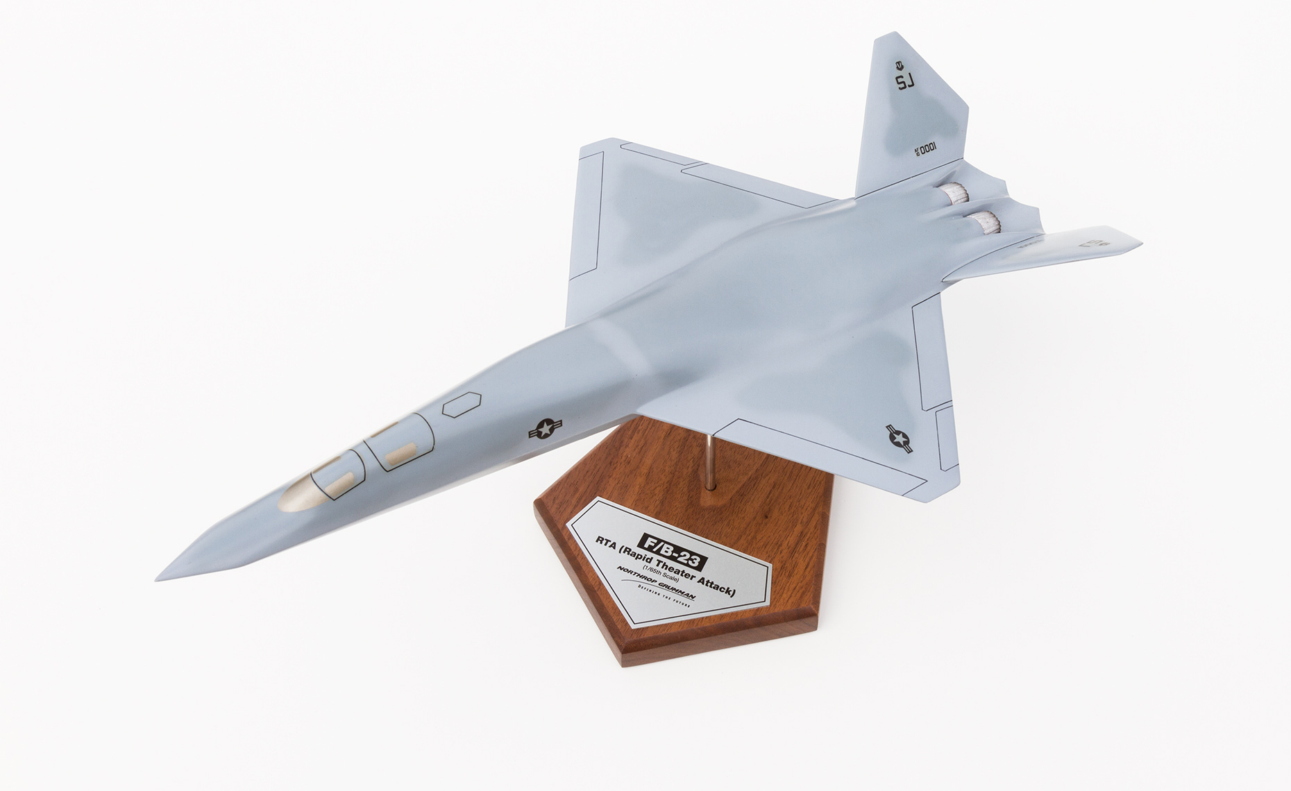 Model of Northrop Grumman F/B-23 RTA