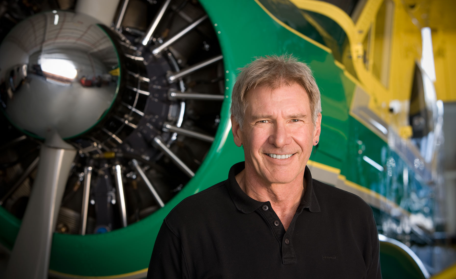 Pilot Actor Harrison Ford