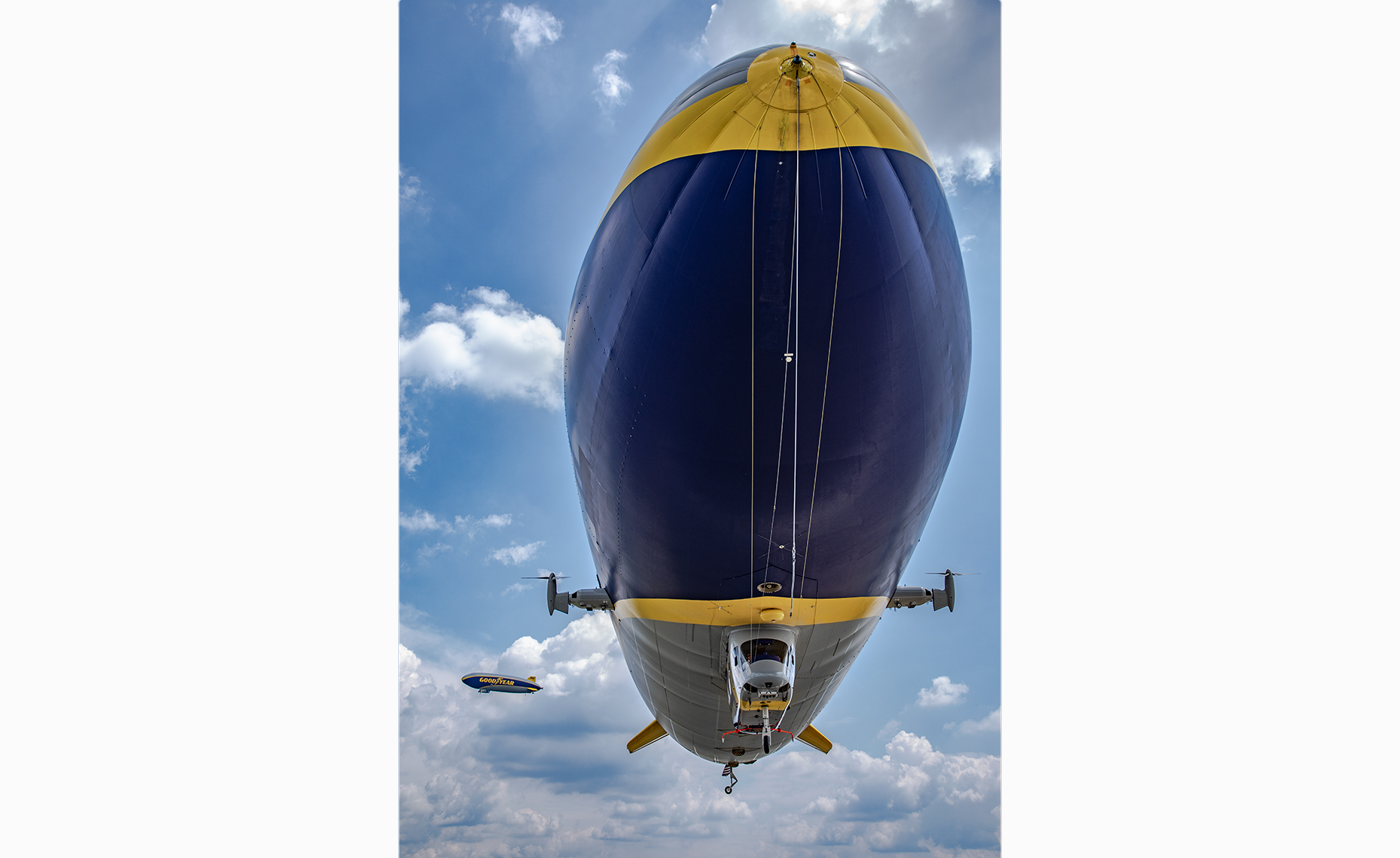 Goodyear Zeppelin Airship Blimps