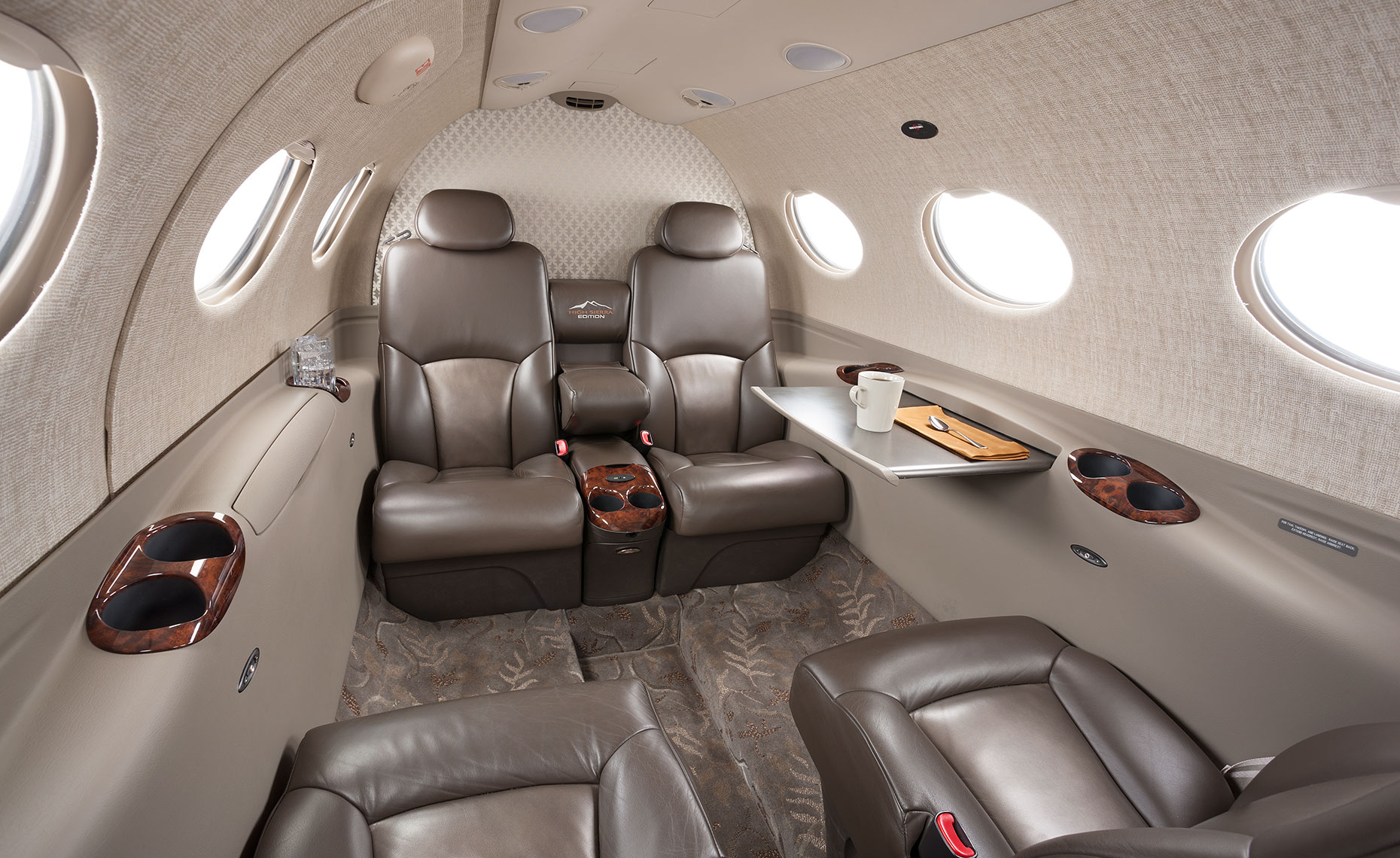 Cessna Mustang Private Jet Cabin Interior