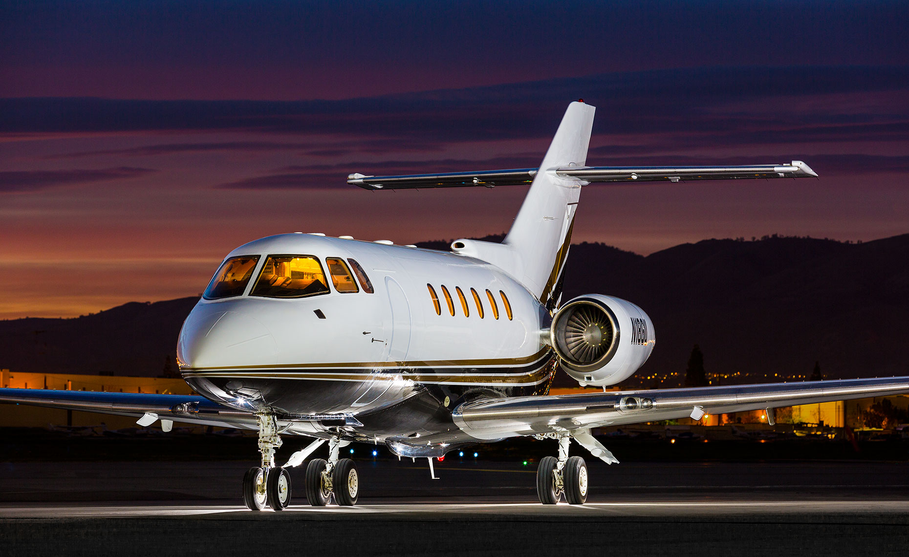 Hawker 800XP Private Business jet