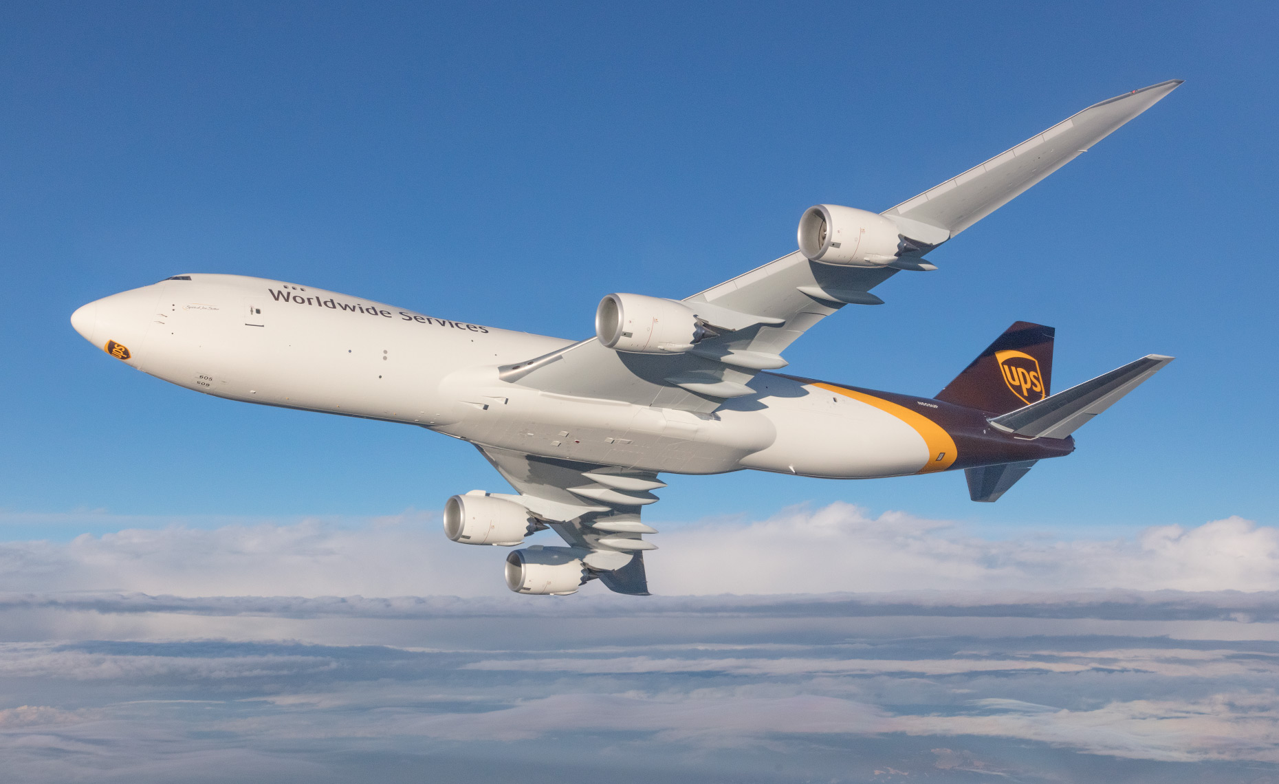 UPS Boeing 747-8F | Chad Slattery Aviation Photography