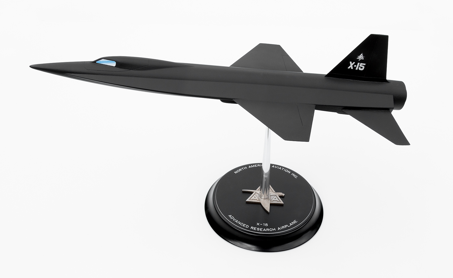 Replica of North American Aviation X-15 model proposal