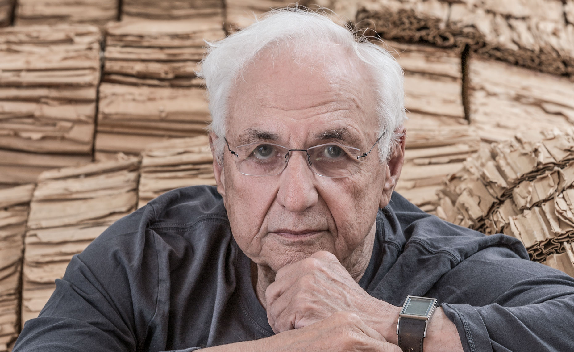 Architect Frank Gehry portrait